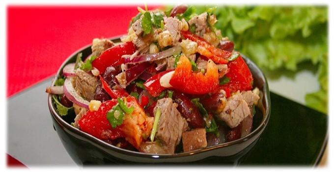 Настоящий рецепт салата тбилиси