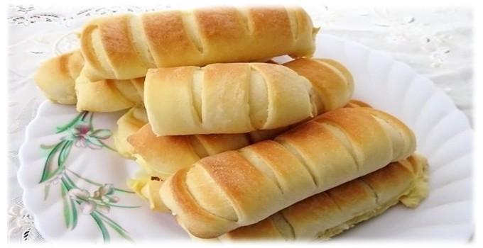 Дрожжевые булочки с сыром: фото 3146874