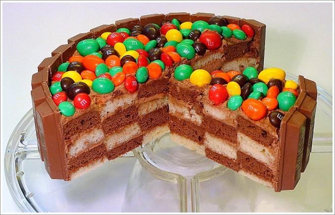 Шахматный торт для детей: фото 3821075