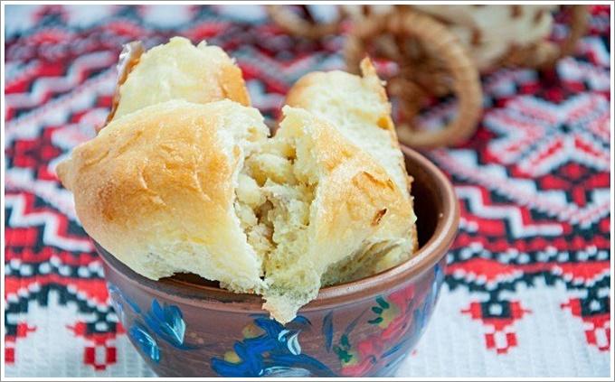 Пирожки с печенью и картофелем: фото 5137021