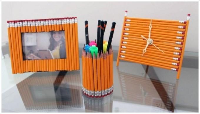 Поделки из карандаша своими руками