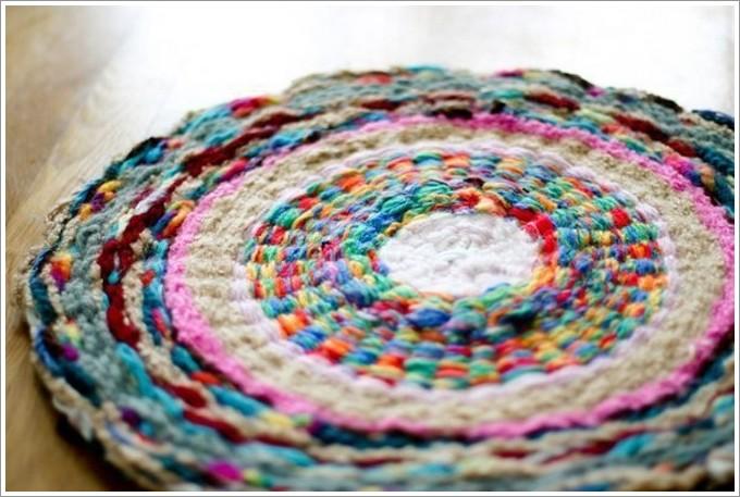 Плетение коврика: фото 3596681