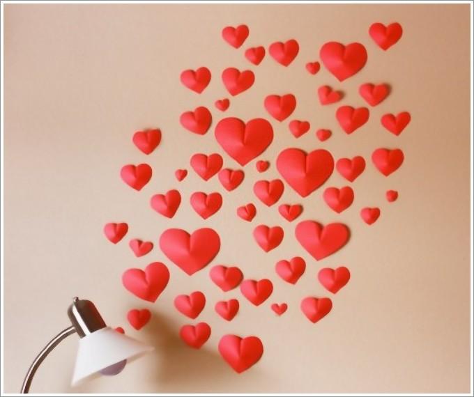 Как украсить комнату ко Дню влюблённых своими руками: фото 3615685