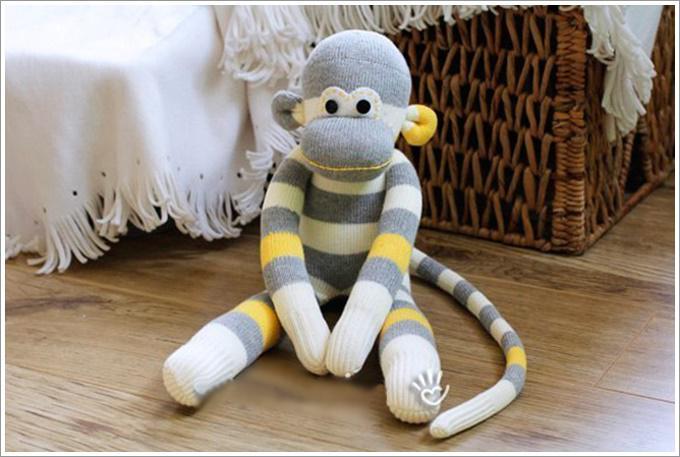 Креативная обезьянка своими руками