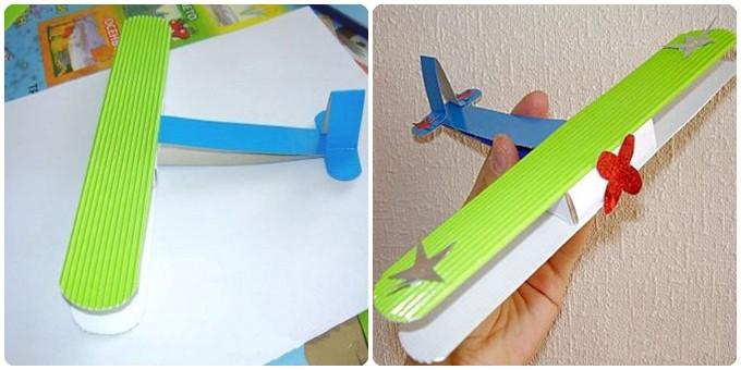 Макет из своих рук самолет