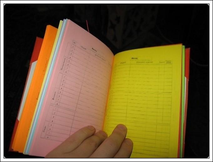 Как сделать дневник для работы