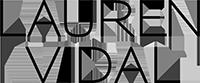 LAUREN VIDAL, логотип