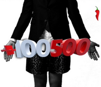 +100500, логотип