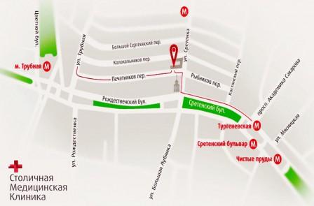 Тургеневская, выход на улицу