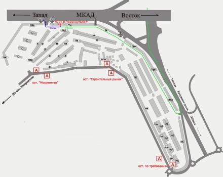 Схема проезда к ГРАНД
