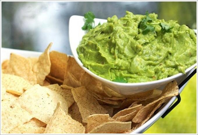 для Зеленый чипсов соус