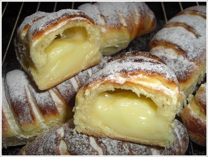 Французские слоеные булочки рецепт