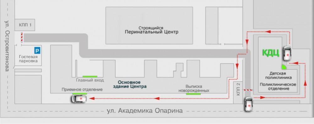 Схема проезда кулакова