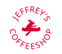 Jeffrey`s coffeeshop, логотип